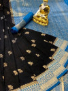 Dola silk jacquard weaving saree