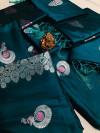 Lichi silk saree with zari work