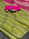 Soft handloom weaving silk saree