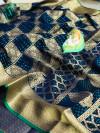 Banarasi handloom weaving patola silk saree