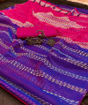 Soft handloom weaving silk saree
