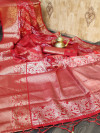 Mysore silk saree with zari weaving work