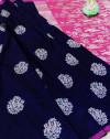 Lichi silk weaving jacquard saree