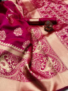 Soft banarasi silk saree
