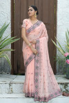 Fancy fabric saree