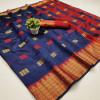 Kota silk saree with zari work