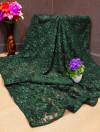 Raffal jacquard weaving sareee
