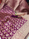 Soft banarasi cotton silk saree