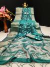Mysore silk saree with zari work