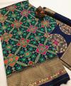 Soft banarasi patola saree